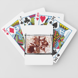 Gladiators in Arena Bicycle Playing Cards