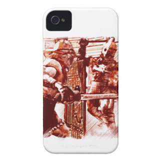 Gladiators in Arena Case-Mate iPhone 4 Case