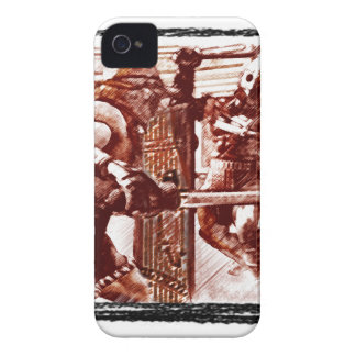 Gladiators in Arena iPhone 4 Cover
