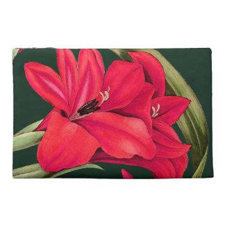 Gladiola Floral Botanical Flowers Bag