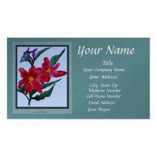 Gladiola Green Business Card