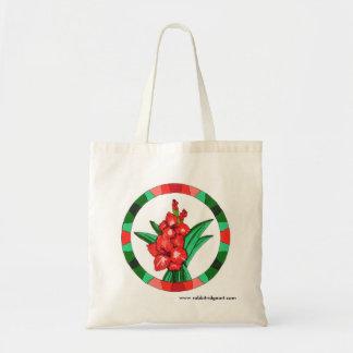 Gladiola Tote Tote Bags