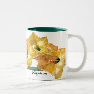 Gladiola Watercolor Painting Mug