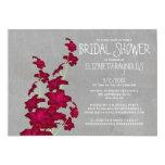 Gladiolas Bridal Shower Invitations