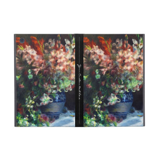 Gladioli in a Vase Pierre Auguste Renoir painting Cover For iPad Mini