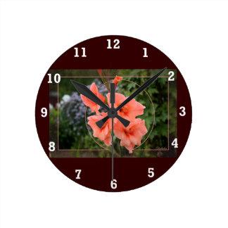 Gladiolo Reloj Redondo Mediano