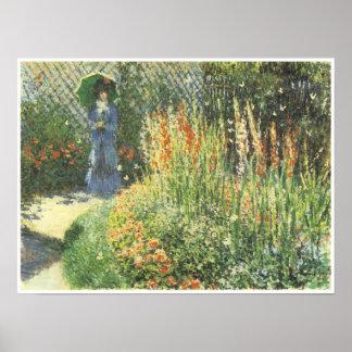Gladiolos, 1876, Claude Monet Posters