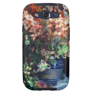 Gladiolos en una pintura de Pedro Auguste Renoir d Galaxy S3 Coberturas