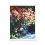 Gladiolos en una pintura de Pedro Auguste Renoir d Impresión En Lona