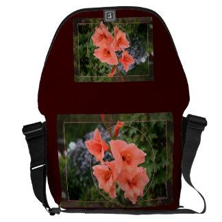 Gladiolus Messenger Bag