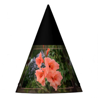 Gladiolus Party Hat