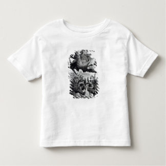 Gladstone being kicked out of parliament, c.1894 toddler t-shirt