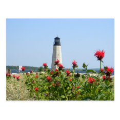 Gladstone, Michigan Lighthouse Postcard at Zazzle