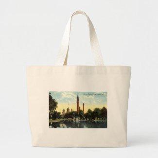Gladwin Park Detroit Repro Vintage 1912 bag