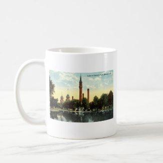 Gladwin Park Detroit Repro Vintage 1912 mug
