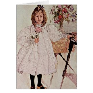 Gladys, 1895 card