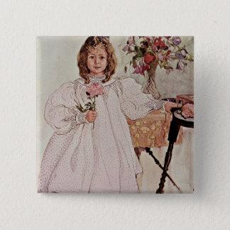 Gladys, 1895 pinback button