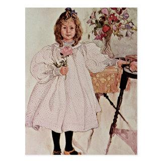 Gladys, 1895 postcard