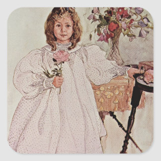 Gladys, 1895 square sticker
