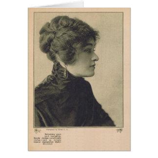 Gladys Brockwell 1922 vintage portrait Card