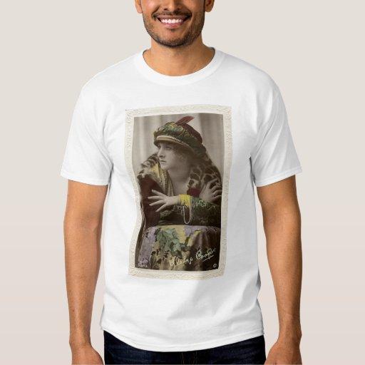 Gladys Cooper 1920s vintage color portrait T-shirt