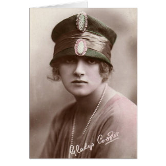 Gladys Cooper Card