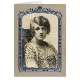 Gladys Copper, Vintage Frame Card 2
