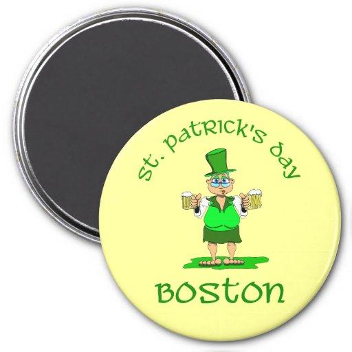 gladys de Boston del día de los patricks del st Imanes
