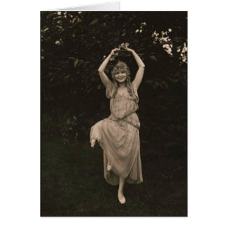 Gladys Leslie 1919 dancing photo Card