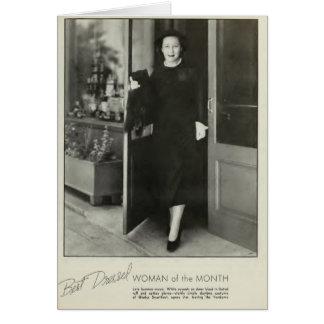 Gladys Swarthout 1935 vintage portrait card