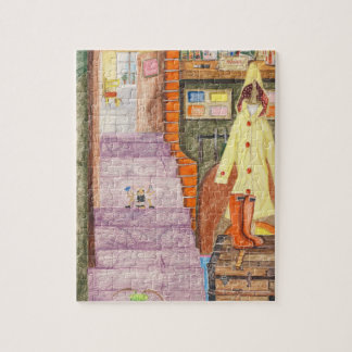 Gladys The Bed Bug Maid Jigsaw Puzzle