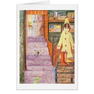 Gladys The Bedbug Maid Card
