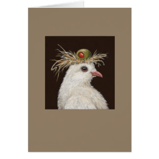 Gladys the dove card