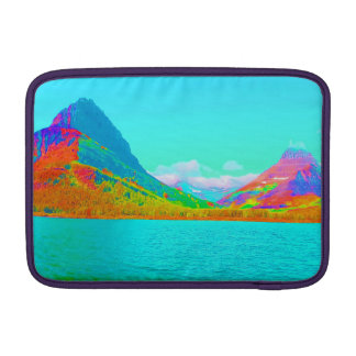 Glaicer National Park Many Glacier Art Photo MacBook Air Sleeve