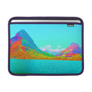Glaicer National Park Many Glacier Art Photo Sleeve For MacBook Air