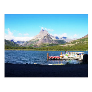 Glaicer National Park Many Glacier Postcard