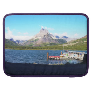 Glaicer National Park Many Glacier Sleeve For MacBooks