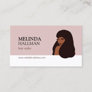 Glam Beauty I Hair Stylist Extensions Business Card