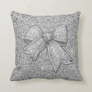 Glam Bow Pillow. Pillow