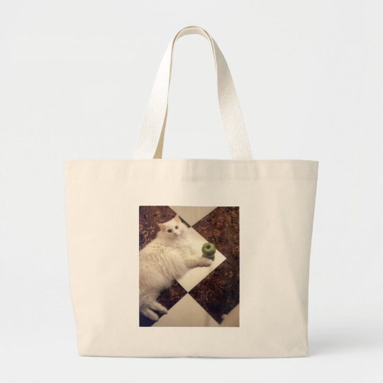 Glam Cat Products Large Tote Bag