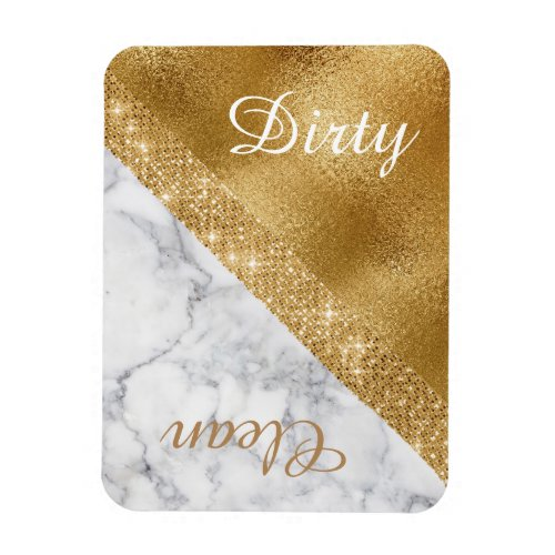 Glam Clean Dirty Dishwasher Magnet