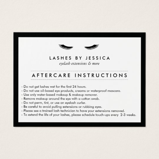 mascara business cards templates zazzle