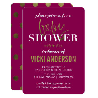 modern baby shower invitations & announcements | zazzle, Baby shower invitations