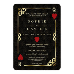 Las Vegas Wedding Invitations Zazzle