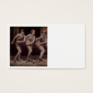 Glam Girl Flappers Dancing Business Card