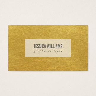 Glam Glitter Business Cards
