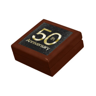 Glam Gold 50th Anniversary Gift Box