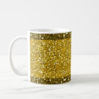 Glam Gold Glitter Coffee Mug