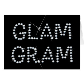 Glam Gram Greeting Card
