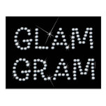 Glam Gram Postcard
